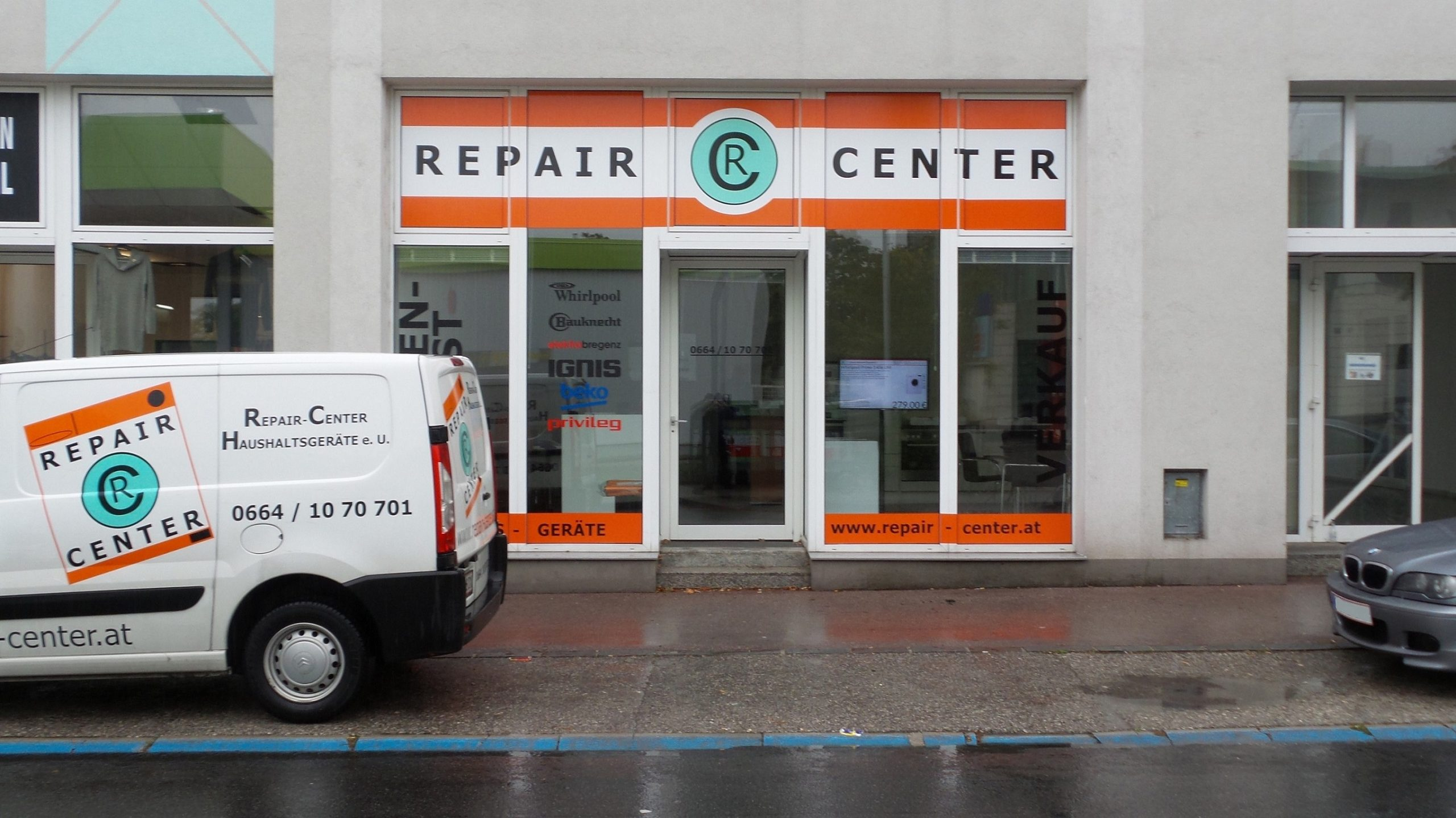 Geschäftslokal Reparatur Service Handel Haushaltsgeräte